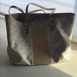 Michael Kors tote with wallet
